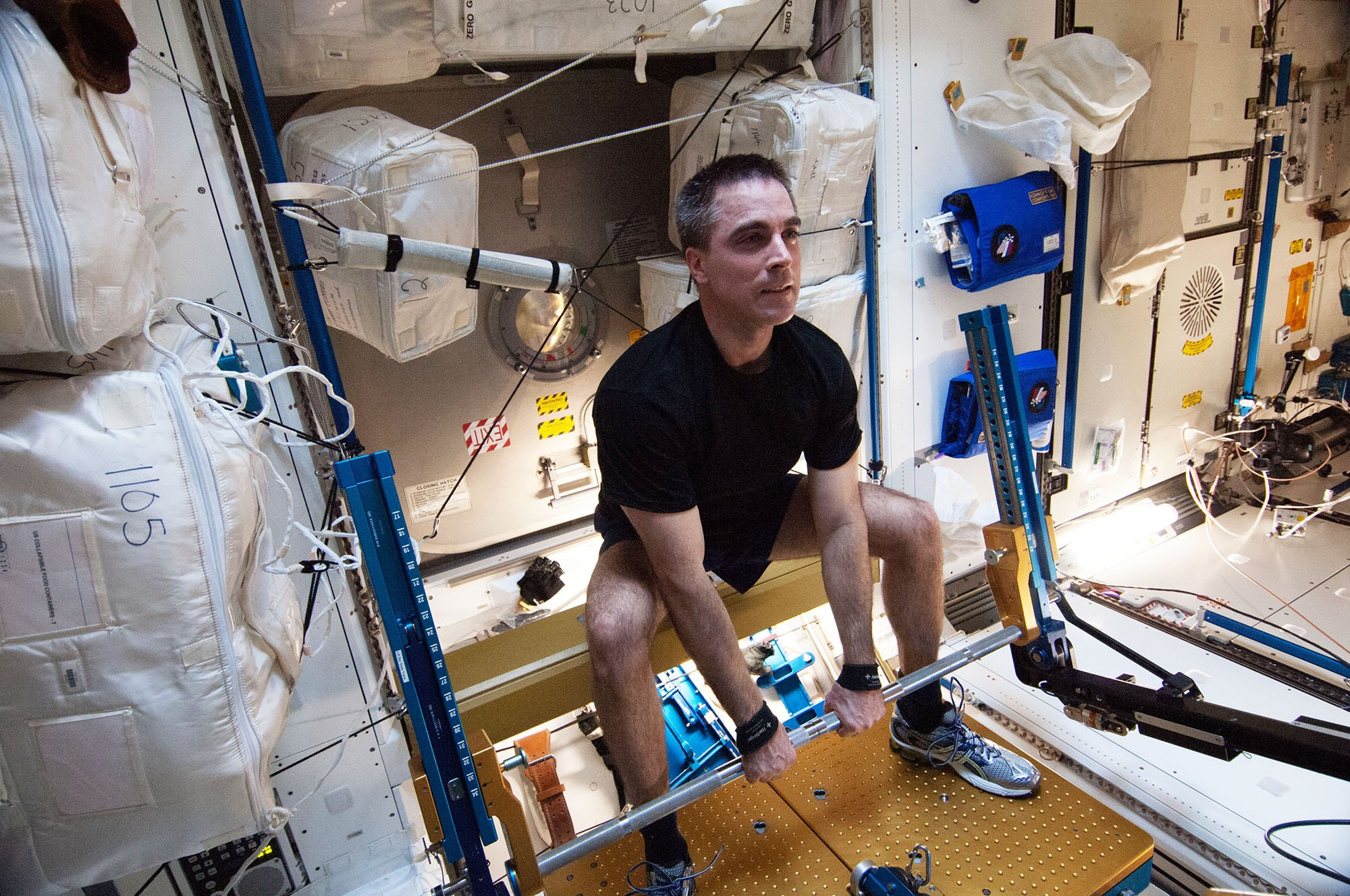 Resistance training on International Space Station ...