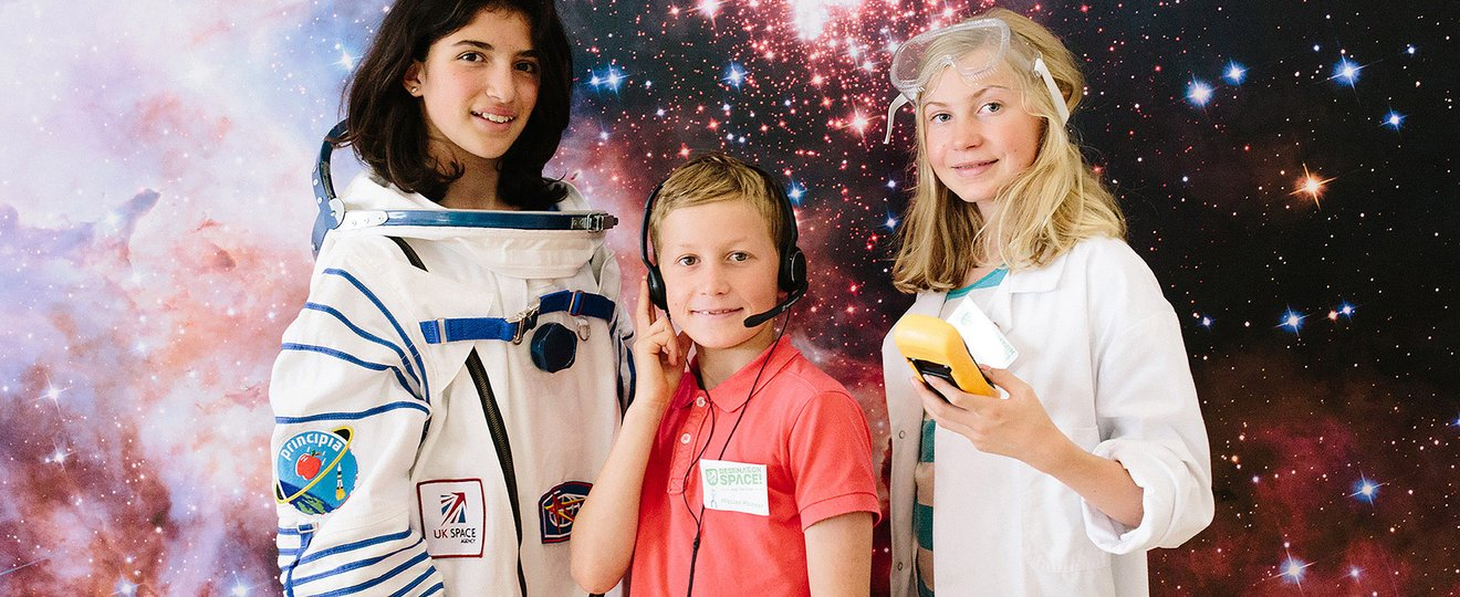 A space scientist, astronaut and flight director in the Destination Space Crew.