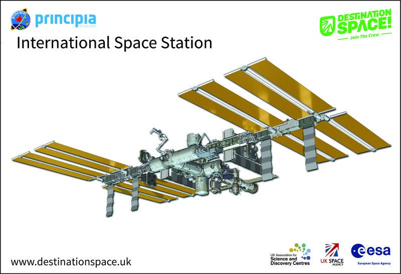 Destination Space ISS App target